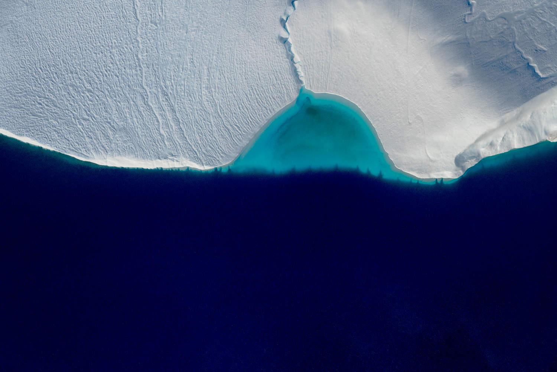 'Breakwater', Icefjord Glacier, Illustiat, Greenland