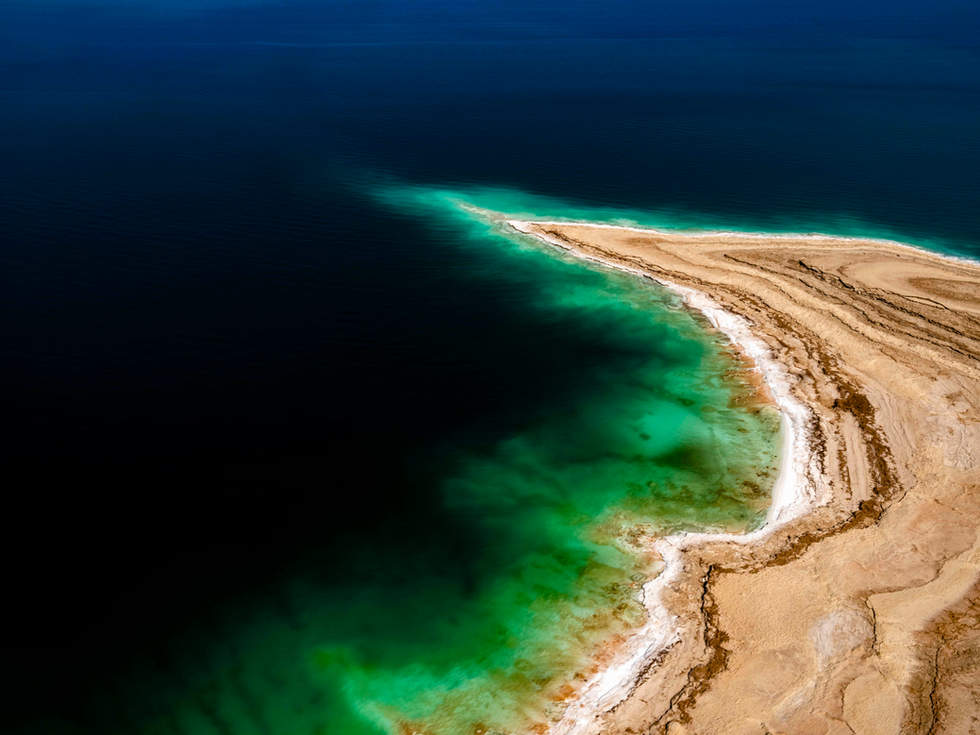 'Depth Charge', Dead Sea, Israel