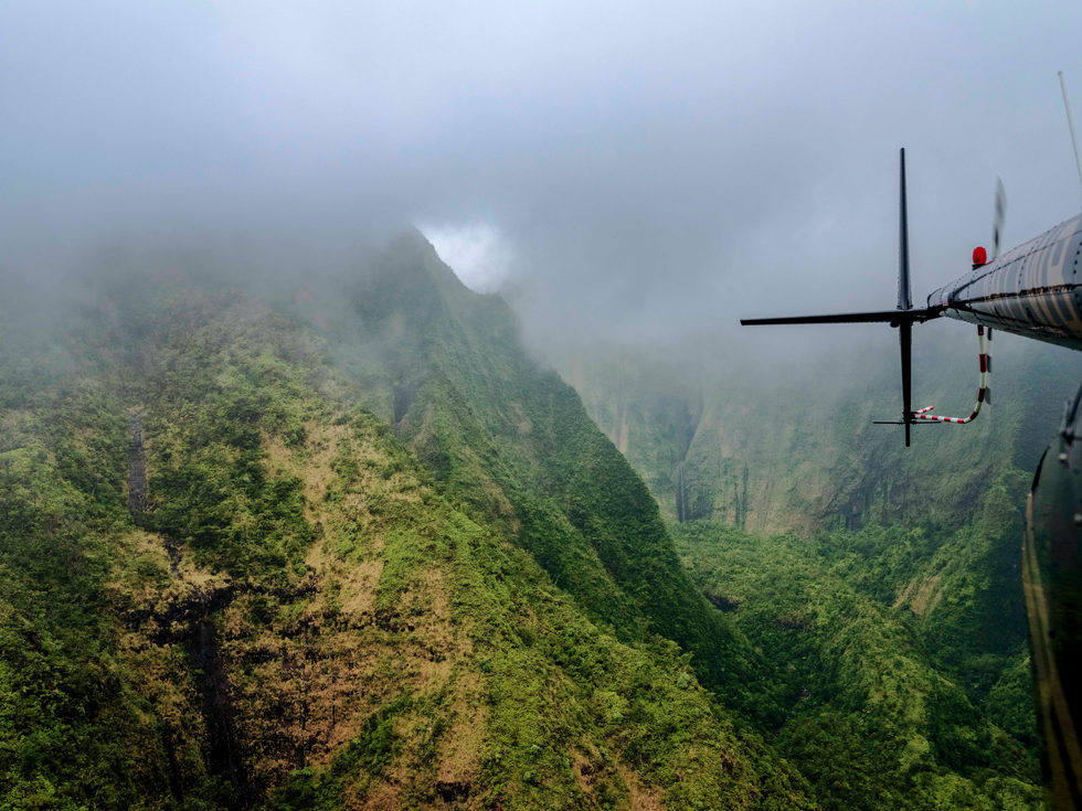 'Mt. Wai'ale'ale' - Kauai