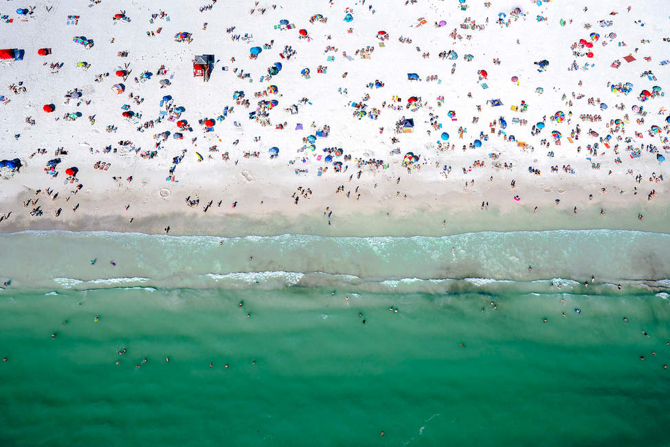 'All of the People', Siesta Key Beach, Sarasota, Florida