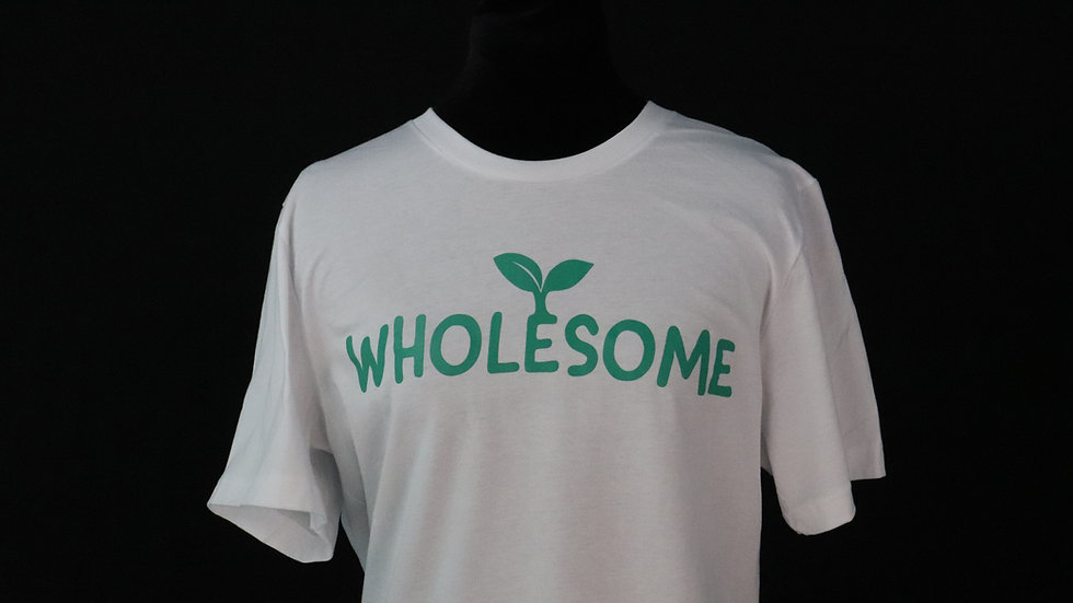 Wholesome Tee - White