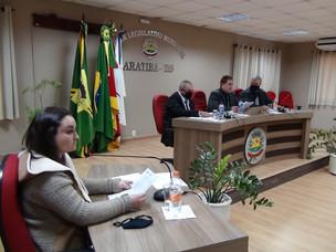 12ª Reunião Ordinária do Legislativo
