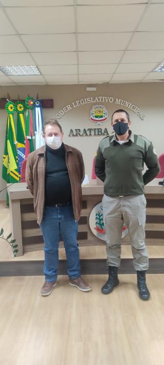 Solicitação de viatura e mais efetivo policial para Aratiba