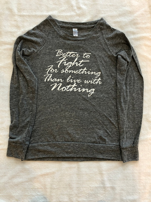 Women's Inspire Eco-Jersey Slouchy Pullover