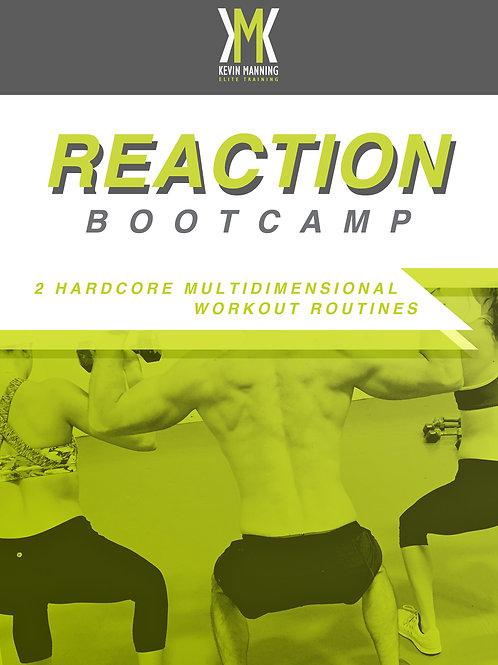 REACTION BOOTCAMP DVD