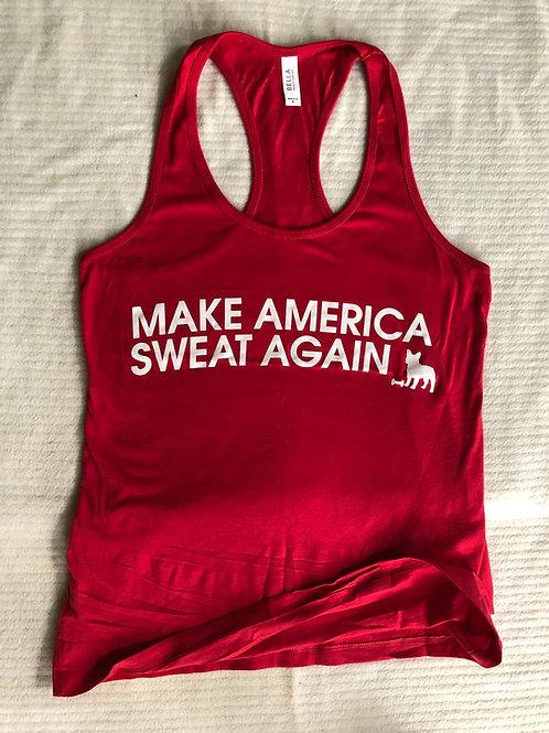 Make America Sweat Again Tank