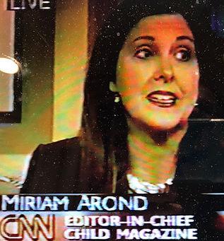 Miriam Arond on CNN TV