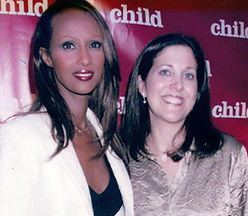 Iman and Miriam Arond