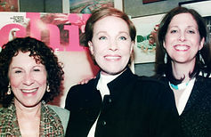 Julie Andrews, Rhea Perlman and Miriam Arond
