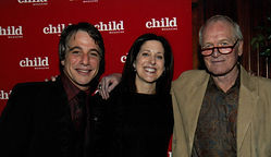Brand consultant Miriam Arond with Paul Newman and Tony Danzig at Child magazine's Children's Champion Awards