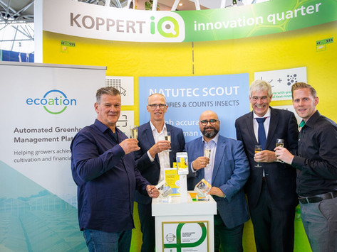 Koppert Biological Systems and Ecoation have signed a cooperation agreement