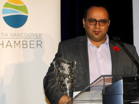 Ecoation Won the 2016 North Vancouver Chamber of Commerce Business Excellence Award