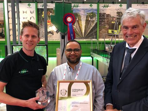 IRIS! Scout Robot Won the GreenTech Award 2018!