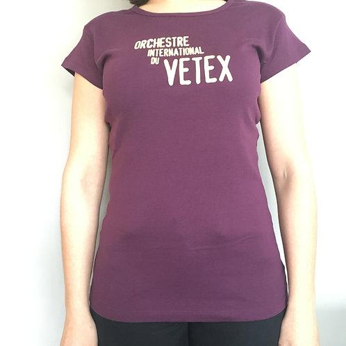 Tshirt Mauve - Femme L