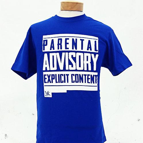 Parental Advisory (Blue)