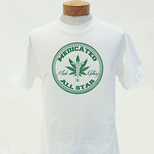 Medicated All Star (White)