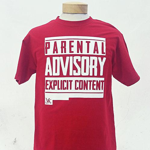 Parental Advisory (Red)