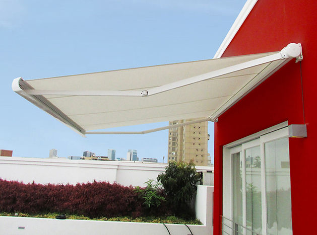 toldo de brazo retracil