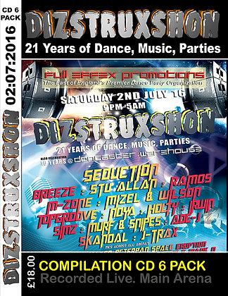 Diztruxshon's 21st Birthday Event CD Pack.