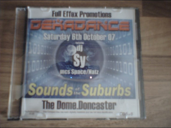 DJ Sy & Space/Natz - Sounds of the Suburbs