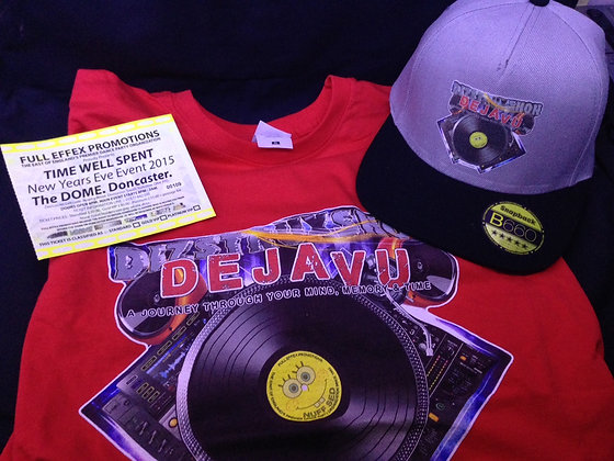 T-Shirt + Hat + Standard NYE Ticket