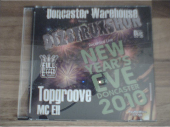 Topgroove & ELL - Dizstruxshon NYE 2010
