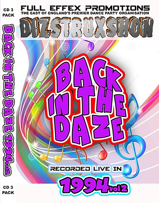 Back in the Daze 1994. Vol2