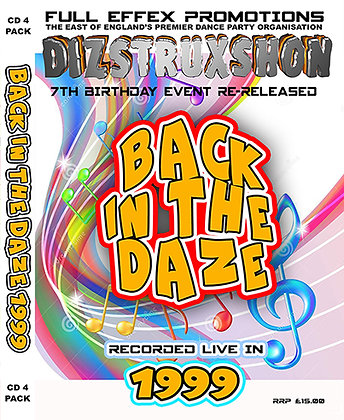 Back in the Daze 1999