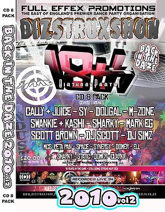 Dizstruxshon 18th Bday - Headliners Full Pack