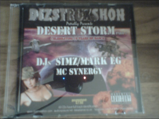 Simz/Mark EG & Synergy - Dizstruxshon 19th Birthda
