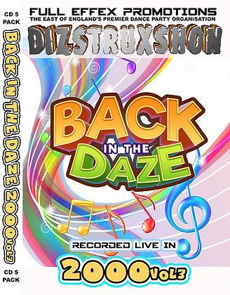 Back in the Daze 2000. Vol3