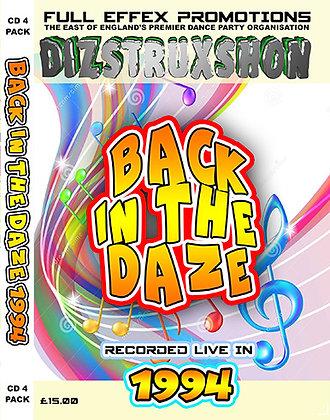 Back in the Daze 1994
