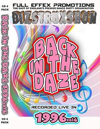 Back in the Daze 1996. Vol6