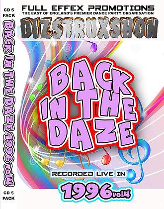 Back in the Daze 1996. Vol4