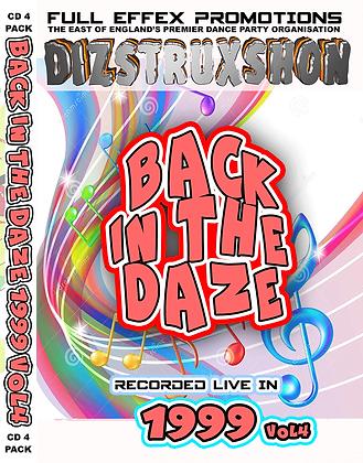 Back in the Daze 1999 Vol4