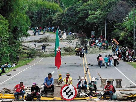 Cinco puntos para entender lo que está pasando en el paro de la minga indígena (Cauca, Colombia)