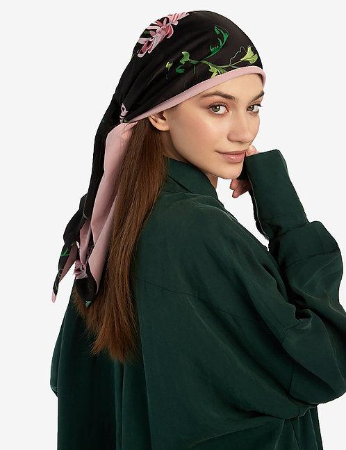 Head shawl Black
