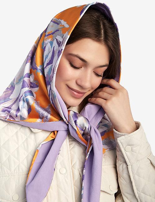 Head shawl Orange