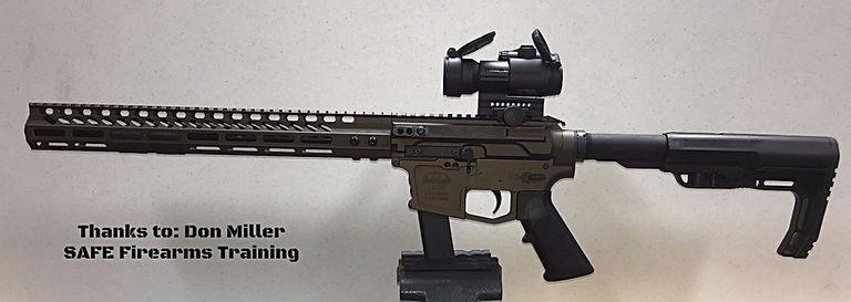 Wolfpack custom AR9 80% side charger kit
