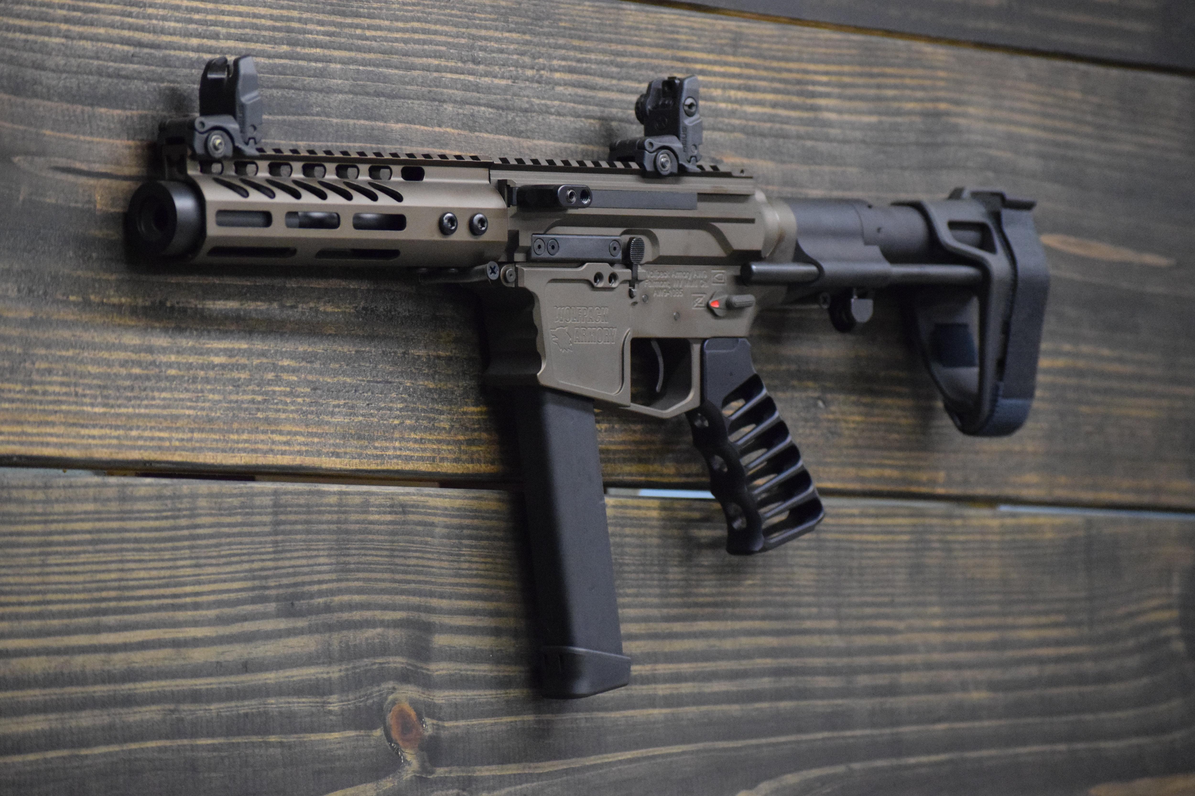 AR9 80% Elite PDW Pistol Kit | wolfpack-armory