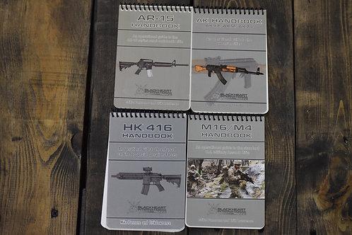 Weapons handbook set of 4