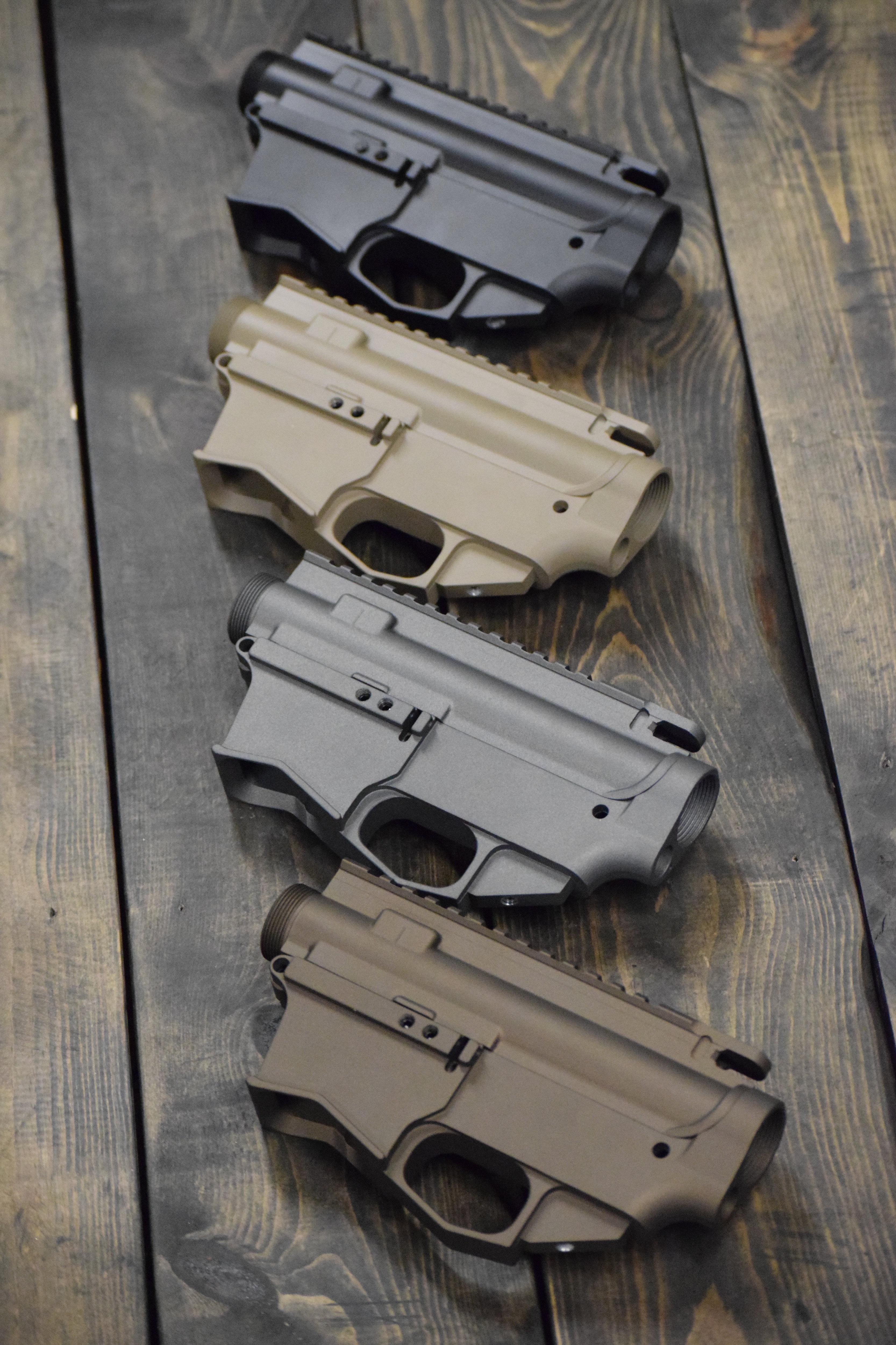 Cerakoted AR45 Upper/80% Lower Set