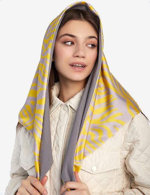 Head shawl Yellow