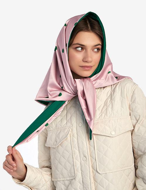 Head shawl Pink