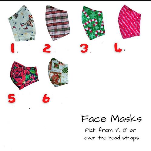 Adult Holiday Masks