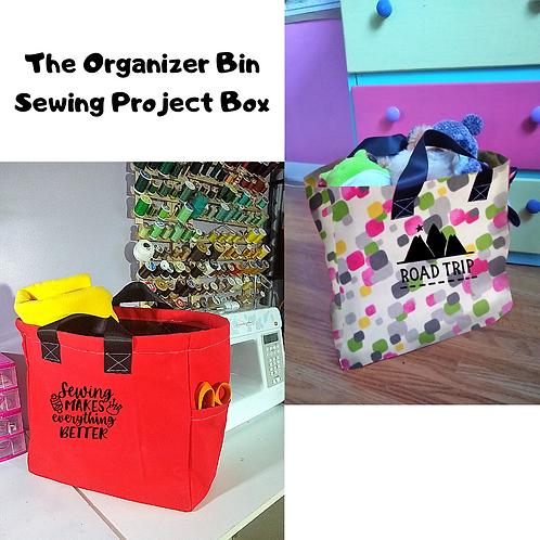 December Organization Bin Project Box