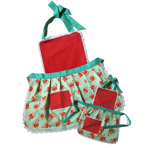 Apron Sets (Mommy & Me, Daddy & Me, Couples, etc)