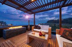 Interior design: Beautiful modern terrac