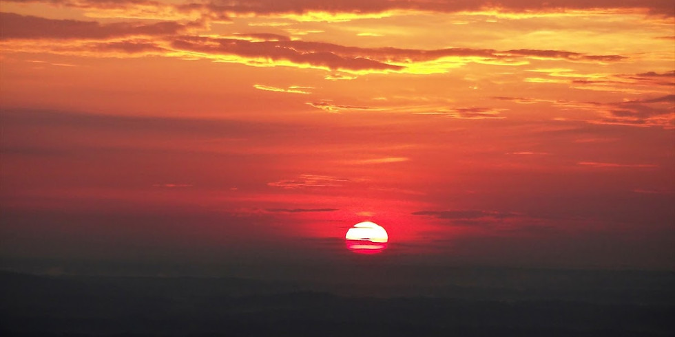 Sunrise guided breathing session on top of Stone Mountain - free