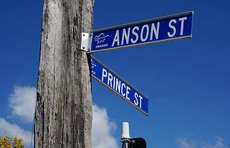 Doctor's surgery corner of anson and prince street Orange